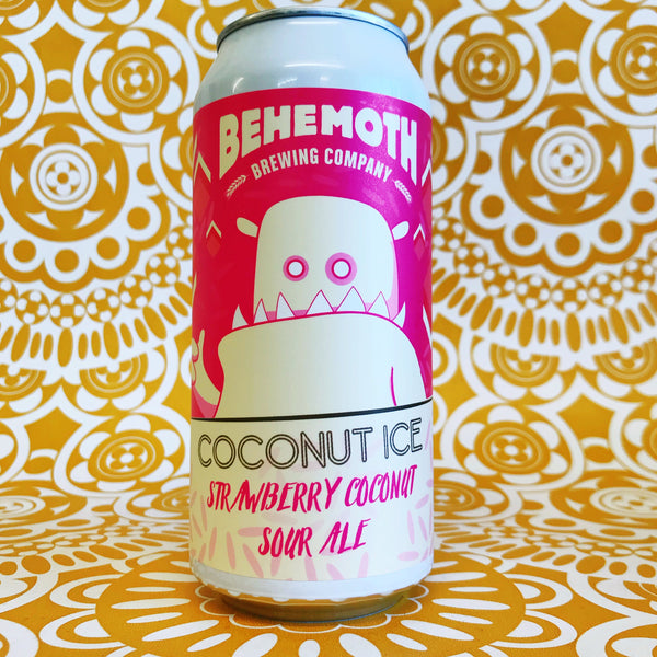 Behemoth Coconut Ice Strawberry Coconut Sour Ale
