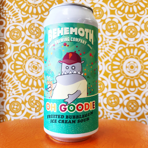 Behemoth Oh Goodie Fruited Bubblegum Ice Cream Sour