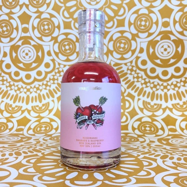 Imagination Rhubarb & Raspberry Gin 200mL