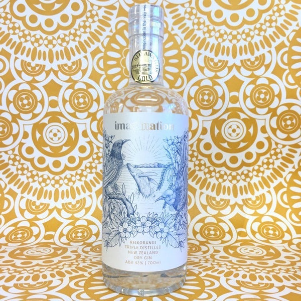 Imagination Triple Distilled Reikorangi Dry Gin 700mL