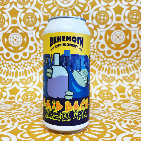 Behemoth Laid Back Hazy IPA