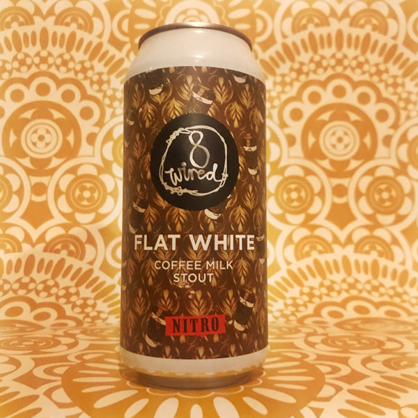 8 Wired Flat White Nitro Coffee Milk Stout