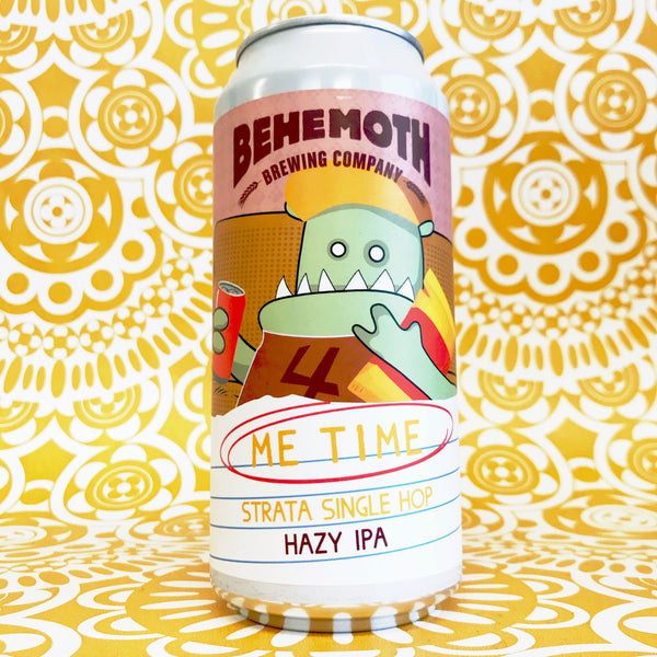 Behemoth Me Time Strata Hazy IPA