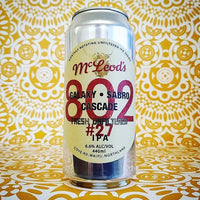 McLeod's 802 #27 Unfiltered IPA