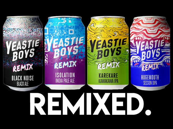 Yeastie Boys REMIX 4-pack