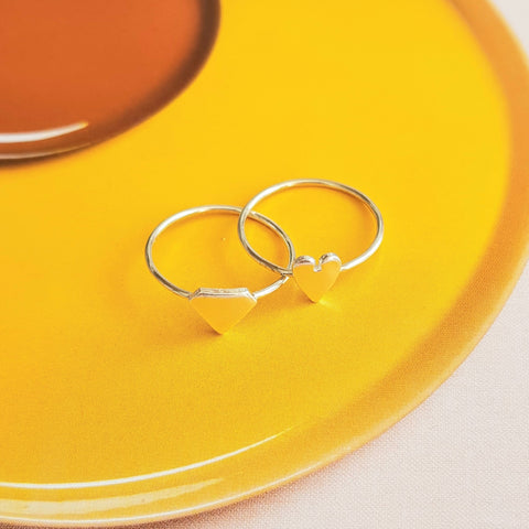 Ringen • Stapelringetje met Beautiful Soul symbool
