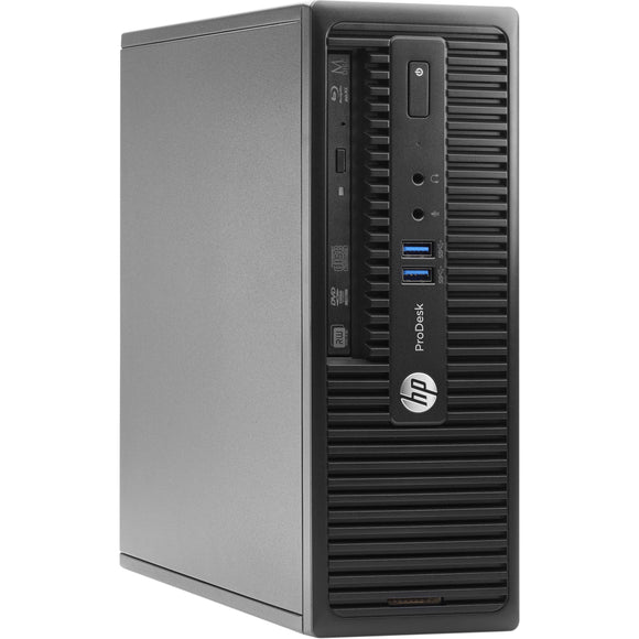 Lot of 35 HP ProDesk 400 G2.5 SFF CORE I5 4TH GEN 8GB RAM, 500GB  HDD COA (Refurbished)