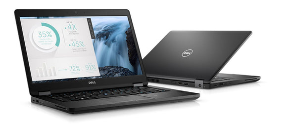 Clearance - Dell 5480 Intel i7-HQ:7820, 16GB RAM, 256 GB SSD, Windows 10 Pro (Refurbished)