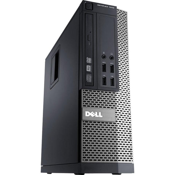 Dell 7010 SFF, Intel Core i5-3470, 3.2 Ghz, 8GB RAM, 120 GB SSD, Windows 10 Pro (Refurbished)
