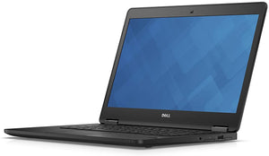 "Dell Latitude E7470 14"" Core i7 6600U 8GB RAM, 512GB SSD, Webcam, Windows 10 Pro (Refurbished)"