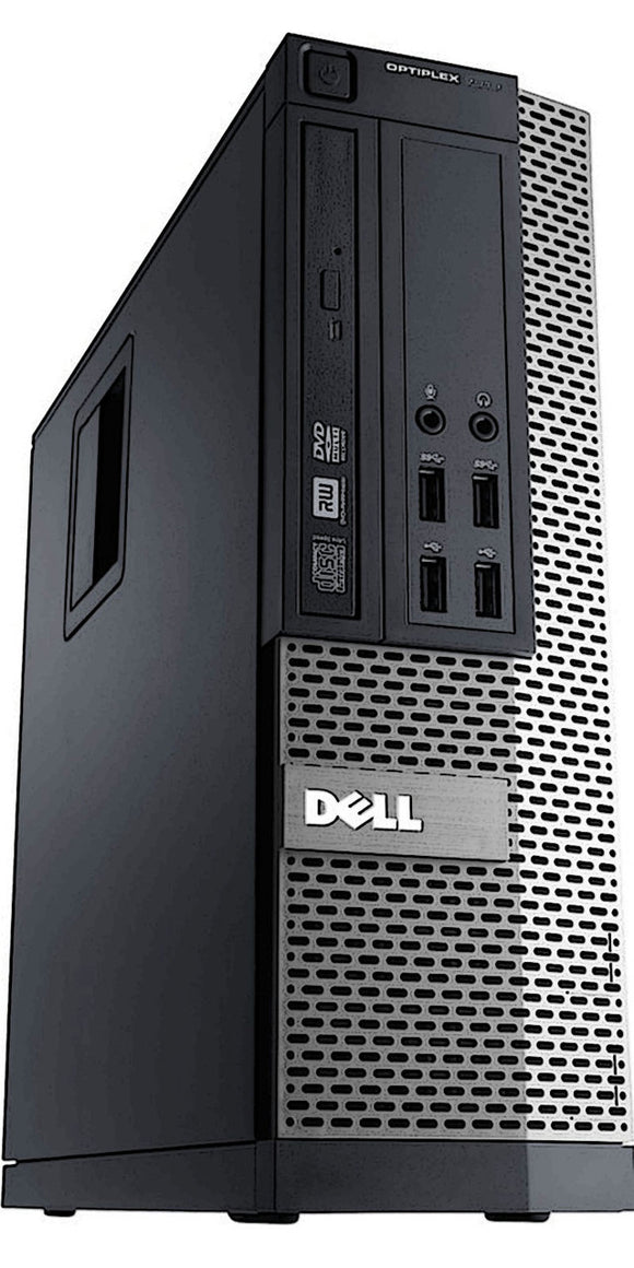Dell Optiplex 790 SFF Core i3-2100 3.1GHz 8GB RAM, 128 GB SSD DVD Wi-Fi Windows 10 Home (Refurbished)