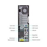 HP Elitedesk 800 G1 Tower Core i7-4770 3.4GHz 16 GB RAM, 256GB SSD+ 1TB HDD DVD Wi-Fi Win 10 Pro (Refurbished)