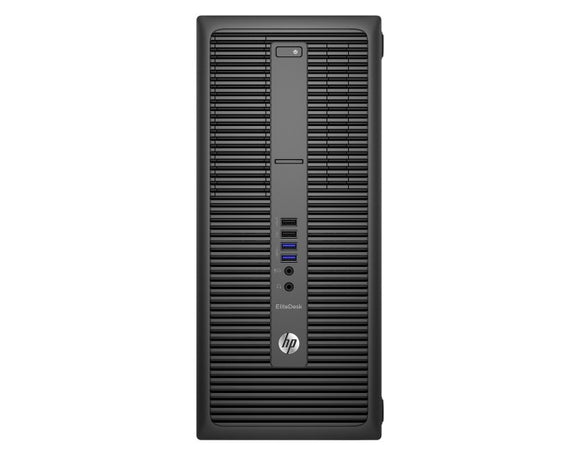 HP EliteDesk 800G2 Tower Intel i5-6400 2.7 GHz, 8GB Ram, 128GB Solid State Hard drive, Windows 10 Pro (Refurbished)