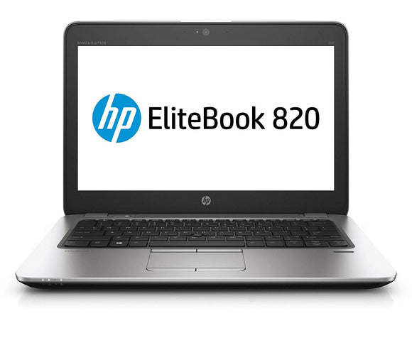 HP Notebook 820 G3, i5-6300U, 8 GB RAM, 256 GB SSD, Windows 10 Pro (Refurbished)