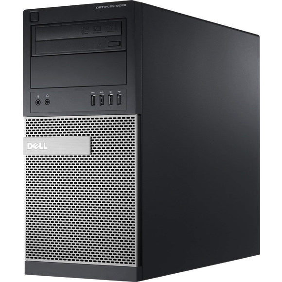 Dell 9020 Tower Core i5-4570 3.2GHz 8 GB RAM, 240GB SSD DVD Wi-Fi Windows 10 Pro (Refurbished)