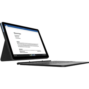 "Lenovo IdeaPad Duet Chromebook 10.1"" 2-in-1, 2.0 GHz MediaTek Helio P60T, 4 GB, 64 GB eMMC, BT, Webcam, Chrome OS (Factory Refurbished)"