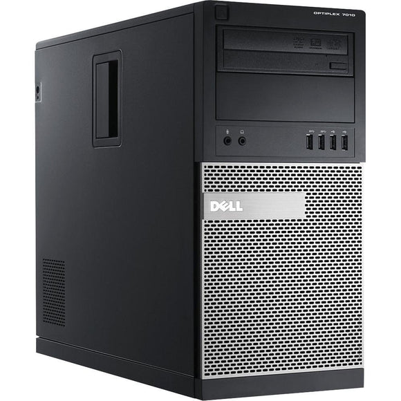Dell Optilex 7010 Tower  I7- 3770 16 GB RAM, 2 TB HDD DVD WINDOWS 10 PRO (Refurbished)