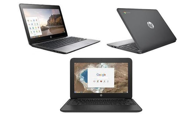 HP Chromebook 11 G5 EE 11.6'' Touch Screen, Intel Celeron N3060 Dual-core 1.6GHz, 4GB Ram,16GB Hard Drive Webcam HDMI Chrome OS(Refurbished)