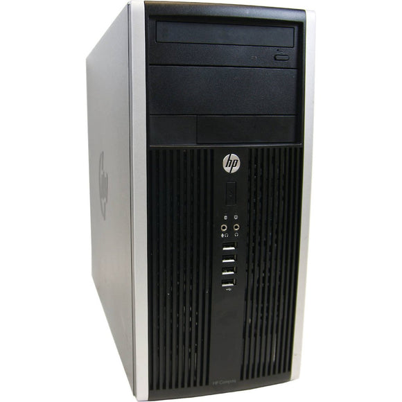 HP 6200 Pro Tower I7-2600 3.4GHz 16 GB Ram, 2 TB HDD  DVDRW Windows 10 Pro 64BIT (Refurbished)