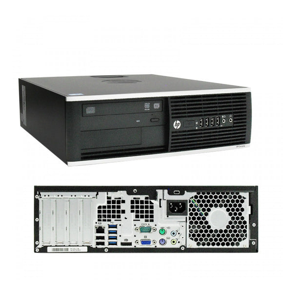 HP 8300 SFF I7-3770 3.4GHz 16GB Ram, 240 GB SSD  DVD RW Windows 10 Pro 64BIT (Refurbished)
