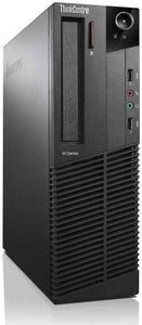 Lenovo ThinkCentre M71e SFF Intel i5-2400 3.1GHz 8GB 128GB Solid State Drive No Opt Wi-Fi Windows 10 Pro (Refurbished)