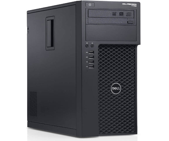 Dell T1700 Tower Intel i5(4570) 3.2GHz 32GB RAM, 512GB SSD DVD Windows 10 Pro (Refurbished)