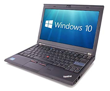 Clearance - Lenovo X220 Intel i7-2620M, 4GB RAM, 320 GB HDD, Windows 10 Pro (Refurbished)