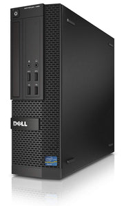 Dell XE2 SFF I7- 4770 8 GB RAM, 240 GB SSD DVD WINDOWS 10 PRO (Refurbished)
