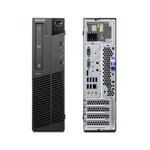Lenovo M82 SFF, intel i3-3220, 4 GB RAM, 500 GB Hard Drive, Windows 10 Pro (Refurbished)