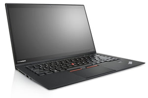 "Lenovo ThinkPad X1 Carbon G4 laptop. Core i5 6200U 2.3GHz, 8GB ram, 256GB Solid State hard drive, 14"" screen, Windows 10 Pro (Refurbished)"