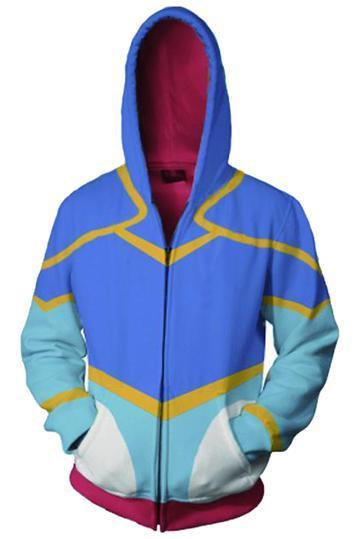 BFJFY Voltron: Legendary Defender Hoodies - Princess Allura Zip Up Hoodie - bfjcosplayer