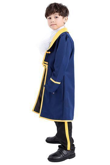 BFJFY Boys Halloween Costume Beauty And The Beast Prince Adam Cosplay - bfjcosplayer
