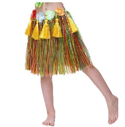 BFJFY Halloween Carnival Party Costume Hula Skirt Dancing Dress For Women - bfjcosplayer