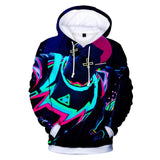 BFJbl Fortnite Costume Hooded Sweater 3D Printing Coat Leisure Sports Sweater Autumn And Winter - bfjcosplayer