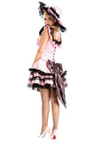 BFJFY Women's Pink Lolita Layered Dress - bfjcosplayer