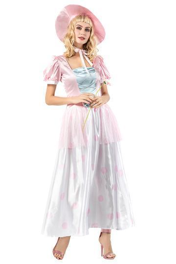 BFJFY Women's Toy Story Princess Dress Halloween Cosplay Costume - bfjcosplayer