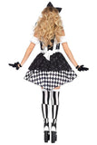 BFJFY Women's Alice Maid Dress Halloween Circus Clown Cosplay Costume - bfjcosplayer