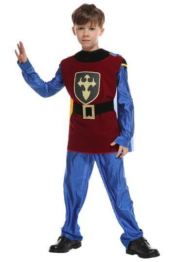 BFJFY Children's Prince King Halloween Cosplay Costumes For Boys - bfjcosplayer