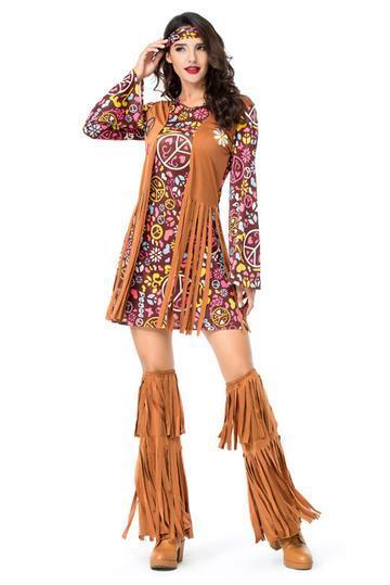 BFJFY Women's Indian Primitive Indigenous Costumes For Halloween - bfjcosplayer