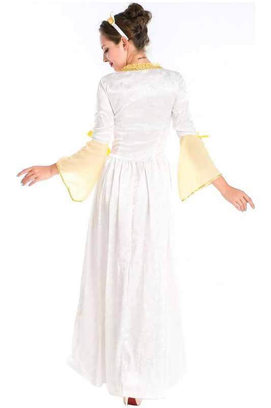 BFJFY Women's Retro Courts Queen Dress Costume Medieval Cosplay Costume - bfjcosplayer