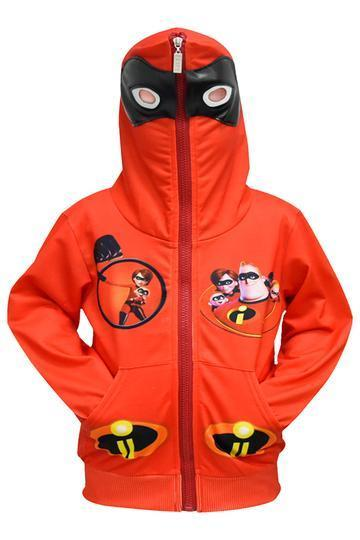 BFJFY The Incredibles 2 Boys Ziper Hoodie Halloween Superhero Cosplay Costume - bfjcosplayer