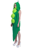 BFJFY Halloween women Cosplay Costume Green Peas Vegetables Costume - bfjcosplayer