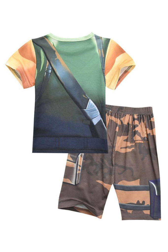 BFJFY Fortnite Kid's Costume Boys Toddler Sleepwear Shirt - bfjcosplayer