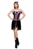 BFJFY Halloween Indian Women Cosplay Dress Costume Strapless Dress - bfjcosplayer