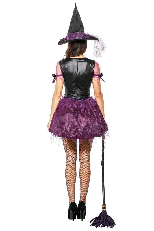 BFJFY Halloween Women's Sorceress Costume Sexy Witch Cosplay Dress - bfjcosplayer