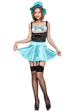 BFJFY Halloween Tea Party Costume Cosplay Skirt Sexy Uniform For Women - bfjcosplayer