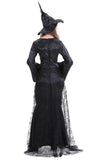 BFJFY Women's Witch Magic Dress Cospaly Costume For Halloween - bfjcosplayer