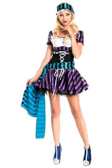 BFJFY Women's Halloween Super Pirate Occident Princess Cosplay Costume - bfjcosplayer