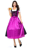 BFJFY Women Halloween Oktoberfest Costume Beer Festival Cosplay Costume - bfjcosplayer