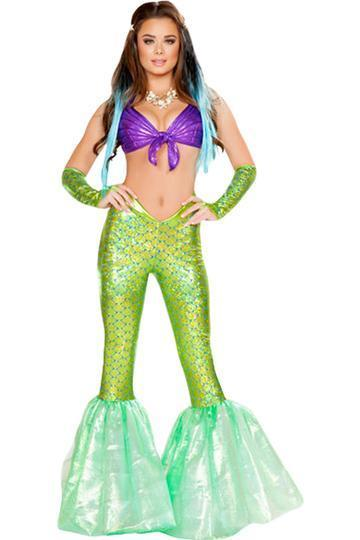 BFJFY Sexy Women's Mermaid Cosplay Costume For Halloween Carnival - bfjcosplayer